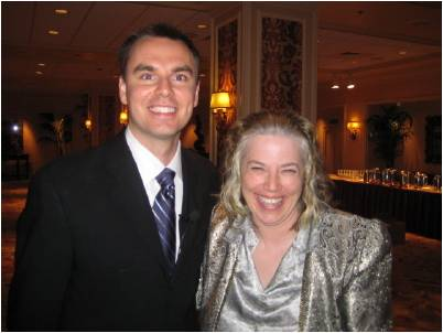 Sunny James with Brendon Burchard